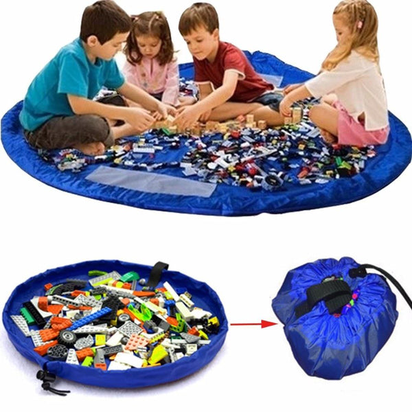Nylon Toy Storage Play Mat & Bag
