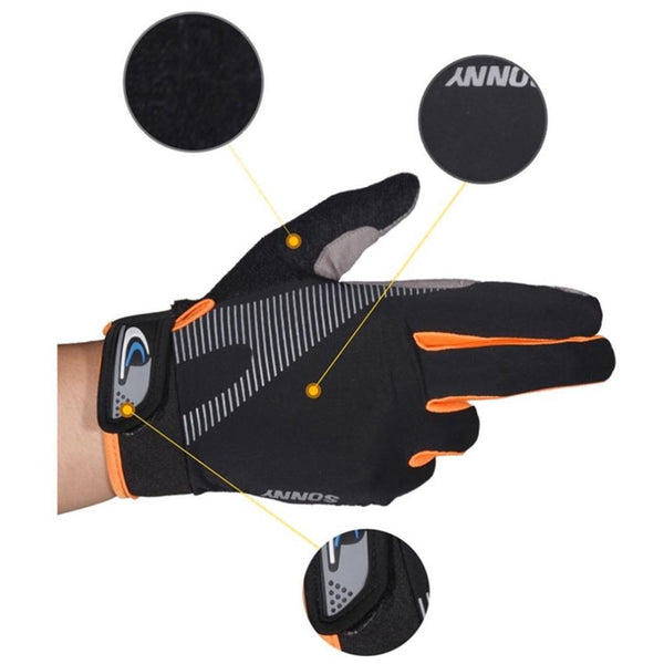High Elasticity Breathable Outdoor Touchscreen Cycling Gloves