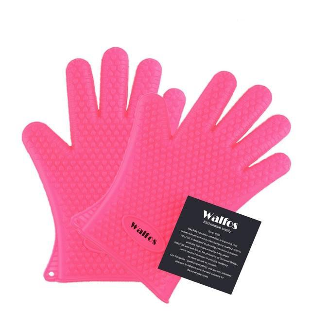 Food Grade Heat Resistant Silicon Kitchen Oven Mitt