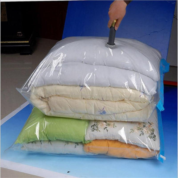 Transparent Vacuum Space Saving Storage Bag