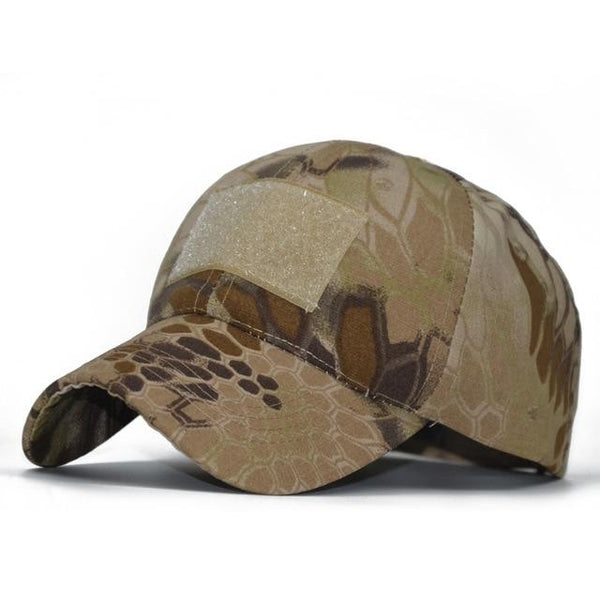 Tactical MultiCam Special Forces Hat with Velcro Patch