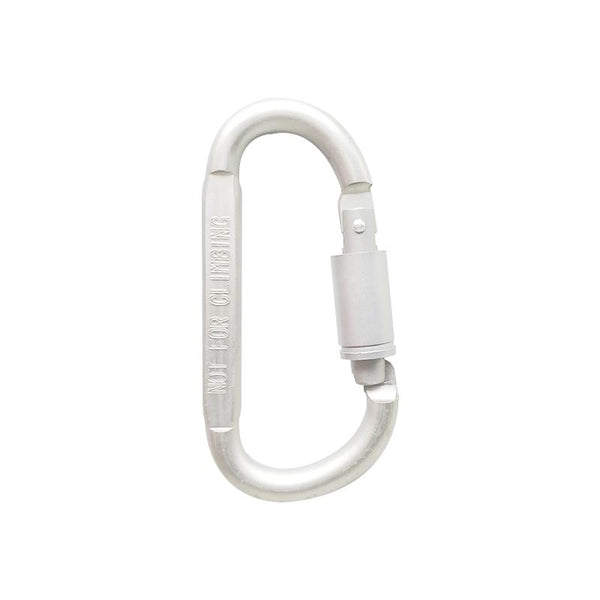 5 Pack: Tight Screw Lock Outdoor Survival Carabiners