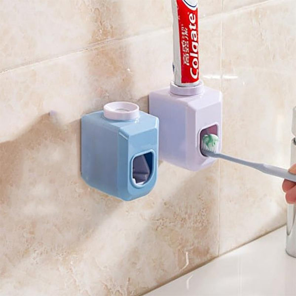 Wall Mounted Hands Free Automatic Toothpaste Squeeze Dispenser