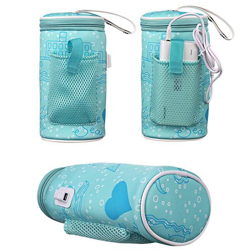 Insulated USB Baby Bottle Heating Thermal Travel Bag