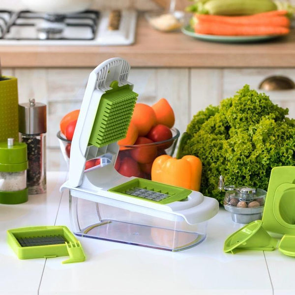 Multi-Functional Kitchen Fruit and Vegetable Dicer Cutting Tool