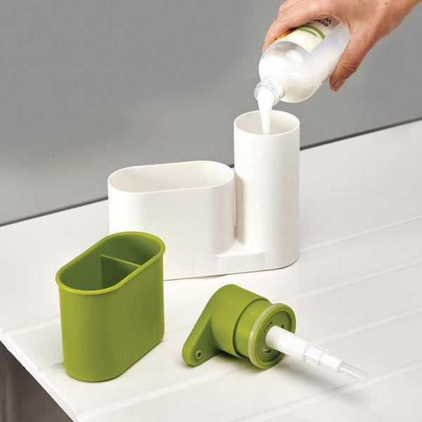Multi-Function Soap Dispenser Sink Organizer