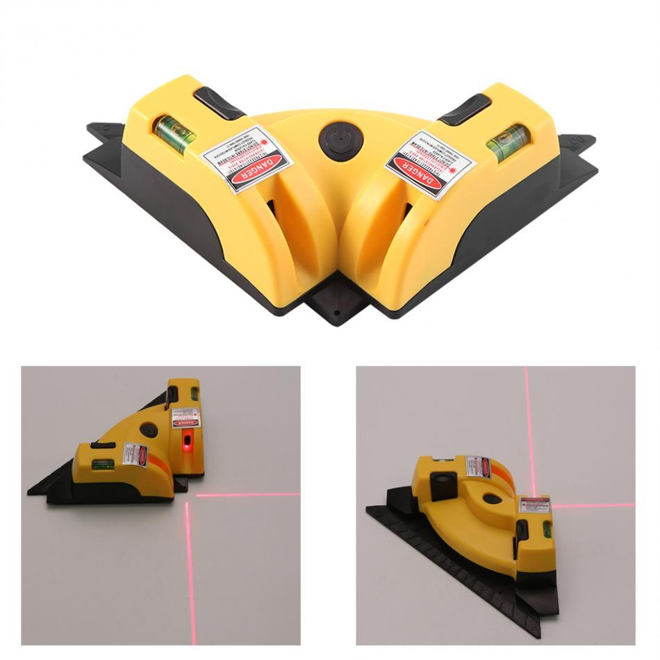 Pro Vertical and Horizontal 90 Degree Laser Level Line Projector