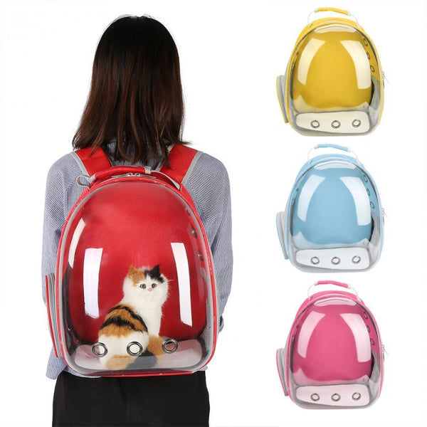 Small Breathable Pet Travel Backpack
