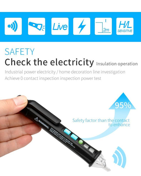 Non-Contact AC Voltage Meter Detection Pen