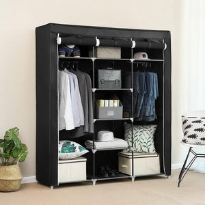 "69"" Portable Wardrobe Home Closet Organizer"