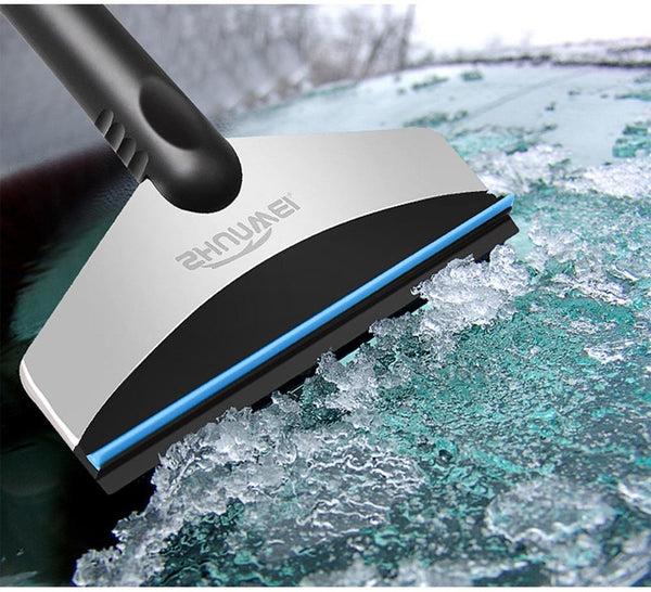 Stainless Steel Rubber Gripped Windshield Ice Scraper