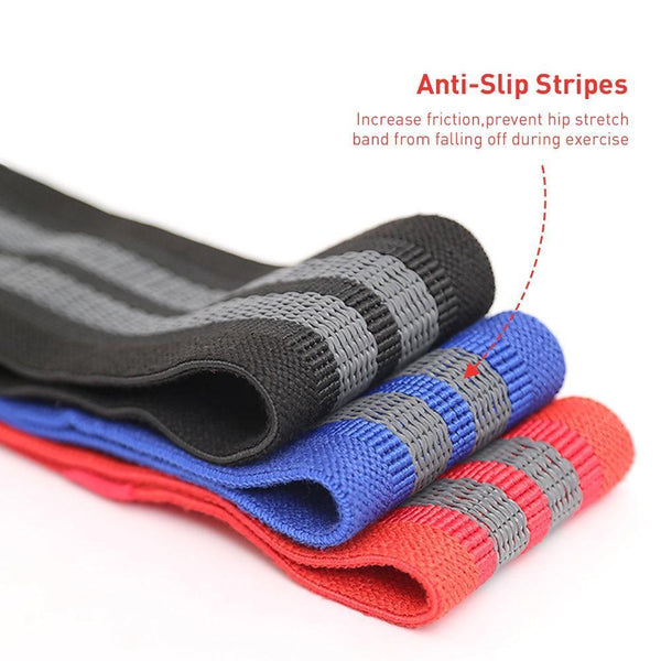 Elastic Hip Resistance Fitness Exercise Bands