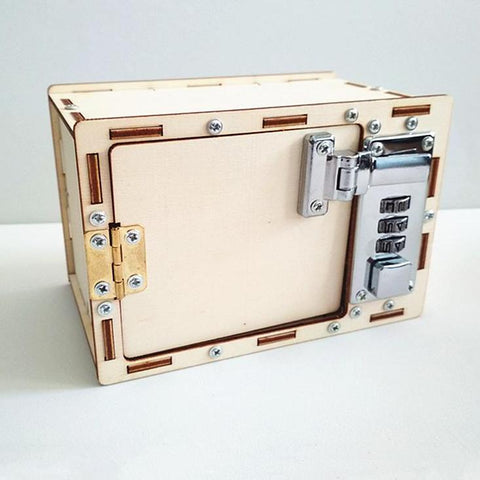 Mechanical DIY Creative Build Password Box