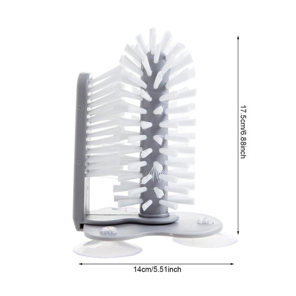 Double Headed Kitchen Cleaning Brush