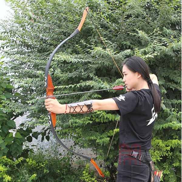 Wooden Recurve Archery Hunting Bow