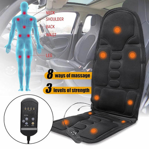 Electric Multifunction Heated Massage Cushion for Car Seat