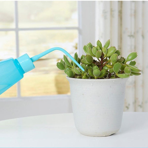 Transparent Flower Pot Gardening Water Bottle