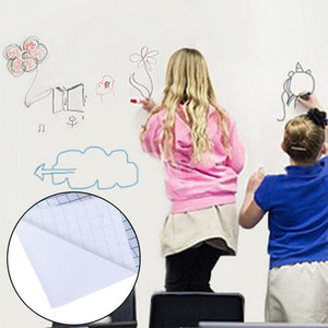 Removable Wall Stick Dry Erase Whiteboard with Marker