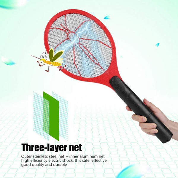 Cordless Electric Fly Swatter Racket