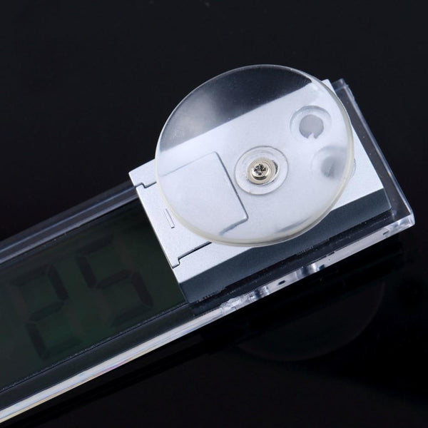 Digital LED Display Clock with Suction Cup