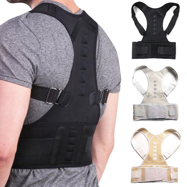 Adjustable Magnetic Posture Correcting Lumbar Support Corset