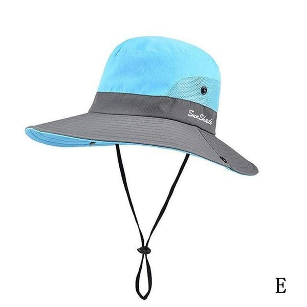 Wide Brim UPF 50+ Sun Protection Outdoor Fishing Hat