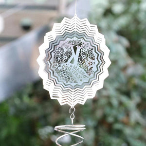 Stainless Steel Wind Chimes Home Garden Decoration