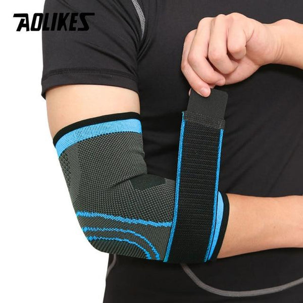 Adjustable Elastic Sport Elbow Support Brace