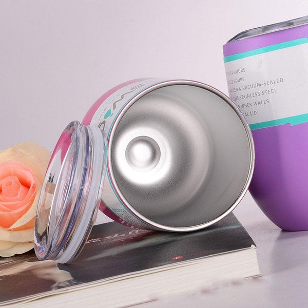 Thermos Insulated Wine Glass