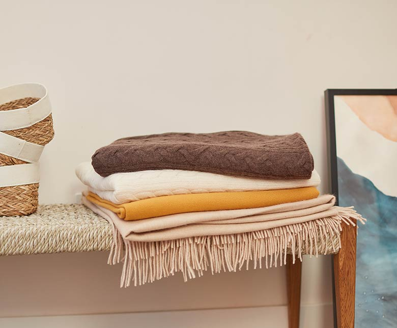 Selected blankets 30% off