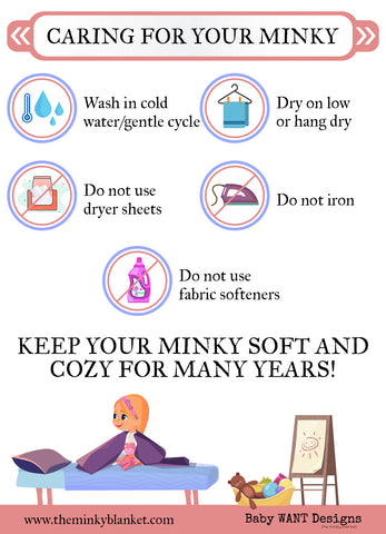 Caring For Your Minky Blanket
