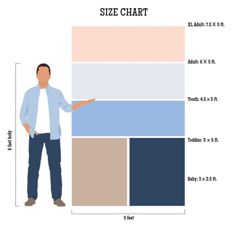 Baby Want Designs Size Chart