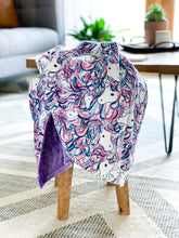 Load image into Gallery viewer, Be A Unicorn - Soft Baby Minky Blanket