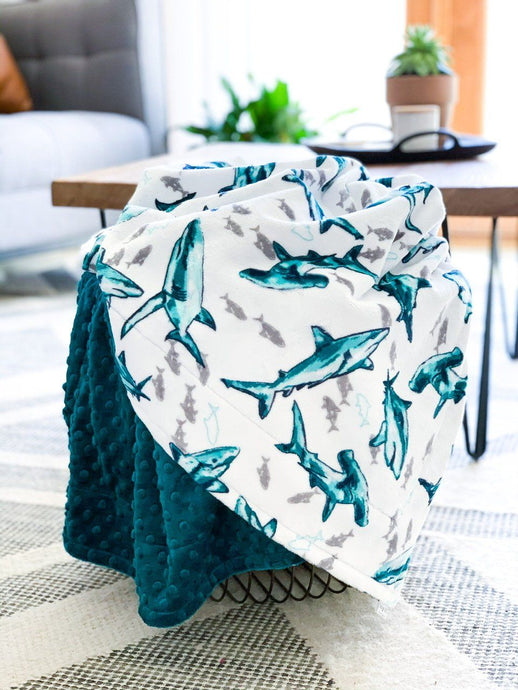 Blankets - Fintastic - Soft Youth Minky Blanket