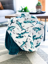Load image into Gallery viewer, Blankets - Fintastic - Soft Youth Minky Blanket