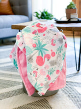 Load image into Gallery viewer, Blankets - Flamingle - Soft Toddler Minky Blanket