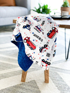 Blankets - To The Rescue! - Soft Baby Minky Blanket