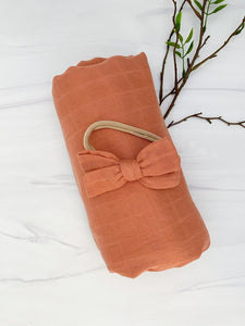 Copper Bamboo Swaddle