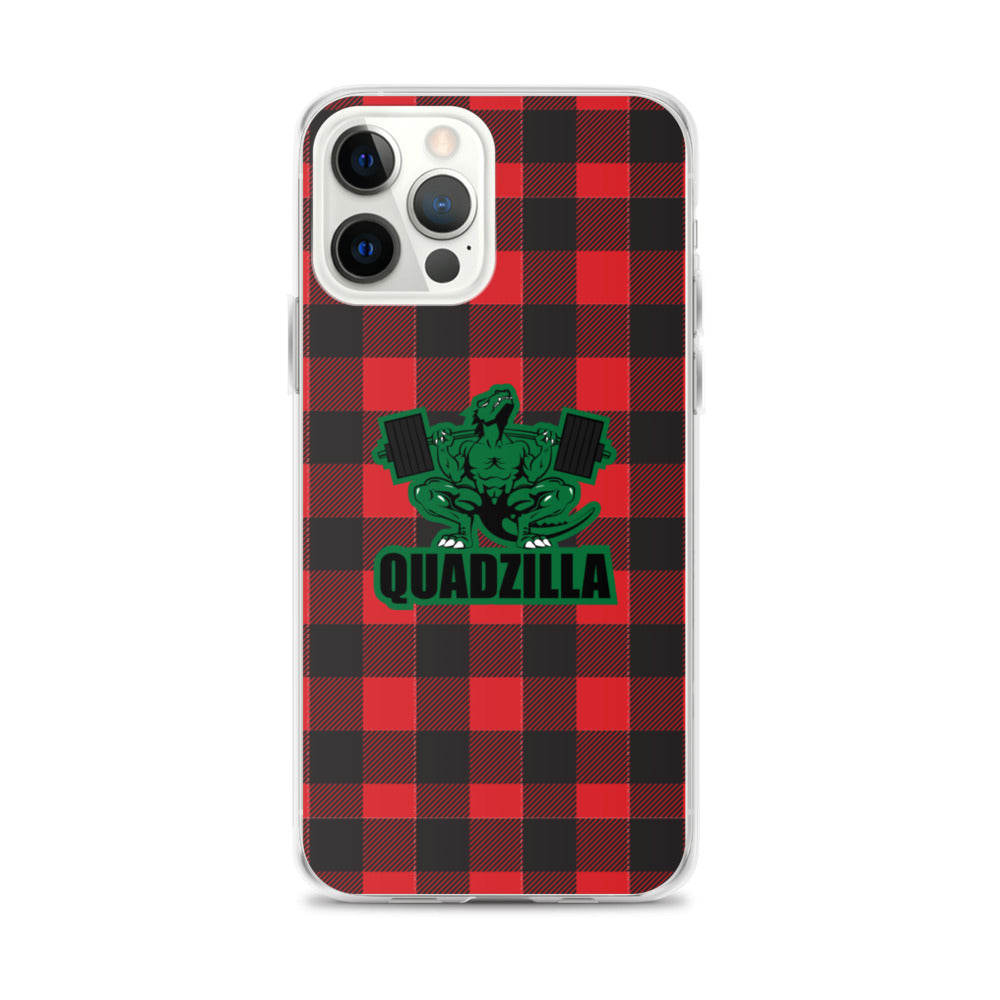 Quadzilla Plaid iPhone Case