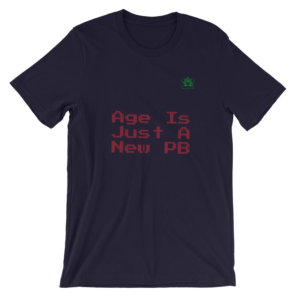 Quadzilla Age New PB Short-Sleeve Navy Mens T-Shirt