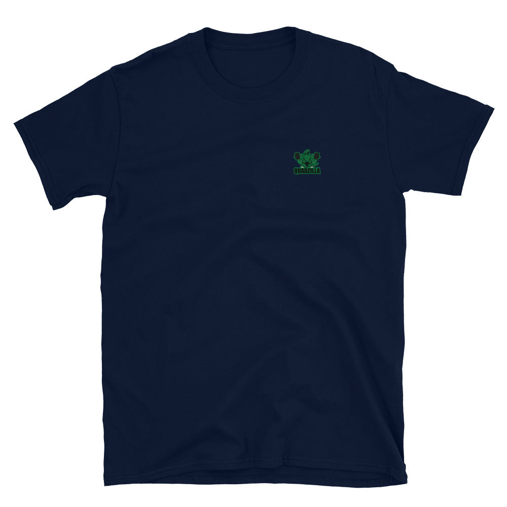 Quadzilla Basic Short Sleeve Navy Mens T-Shirt