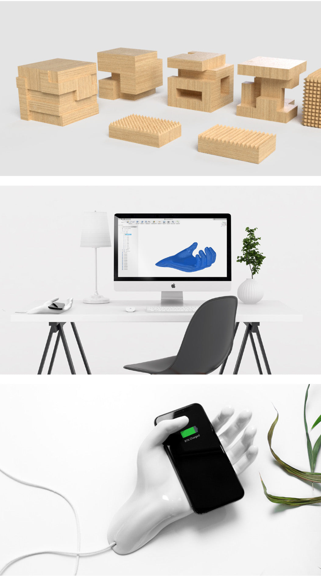 Le Cord Custom Wireless Qi Charger