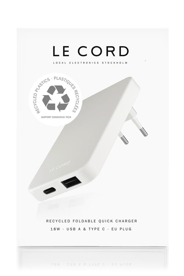 Fog ReCharger · Recycled Wall Charger