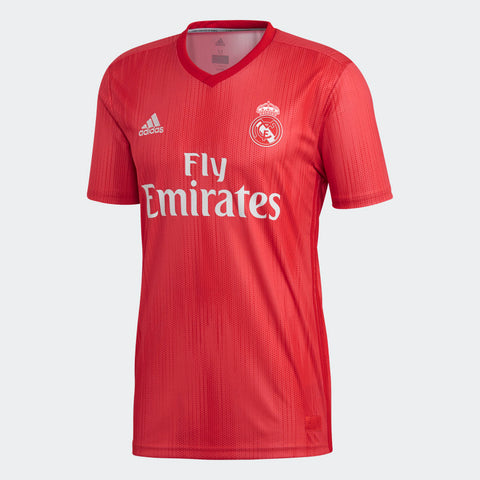 Jersey roja Real Madrid