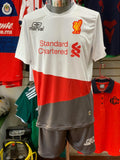 Uniforme Generico Marval Liverpool Blanco