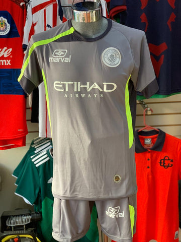 Uniforme Generico Marval Manchester City Gris