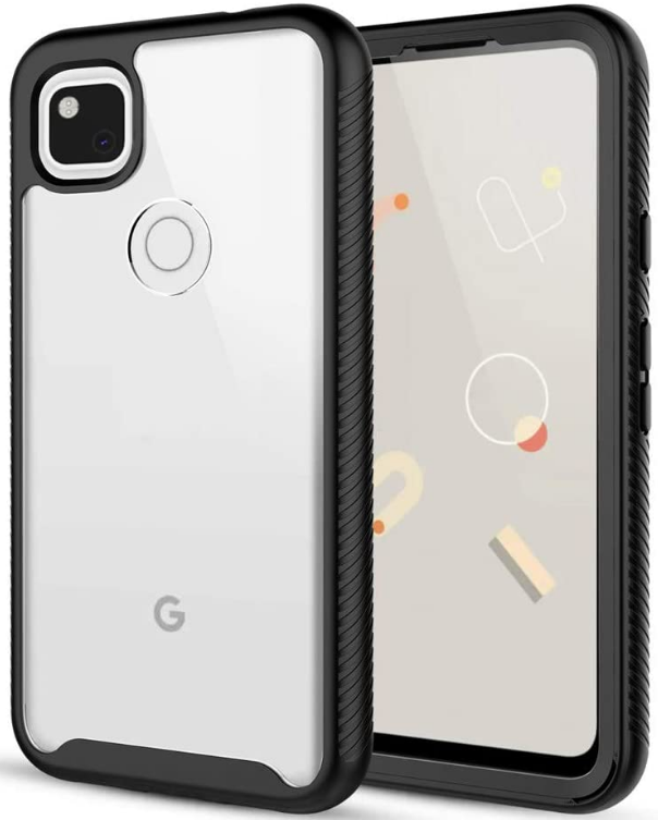 Google Pixel 5 Waterproof Case Built-in Screen Protector IP68 Certified Clear Shockproof Cover Full Body Protection Dustproof Snowproof