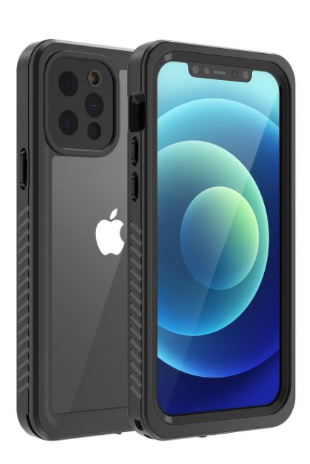 iPhone 11 Pro Max Waterproof Case Built in Screen Protector Thin Clear Full Body Rugged Dustproof Shockproof Snowproof Cover Underwater Protective