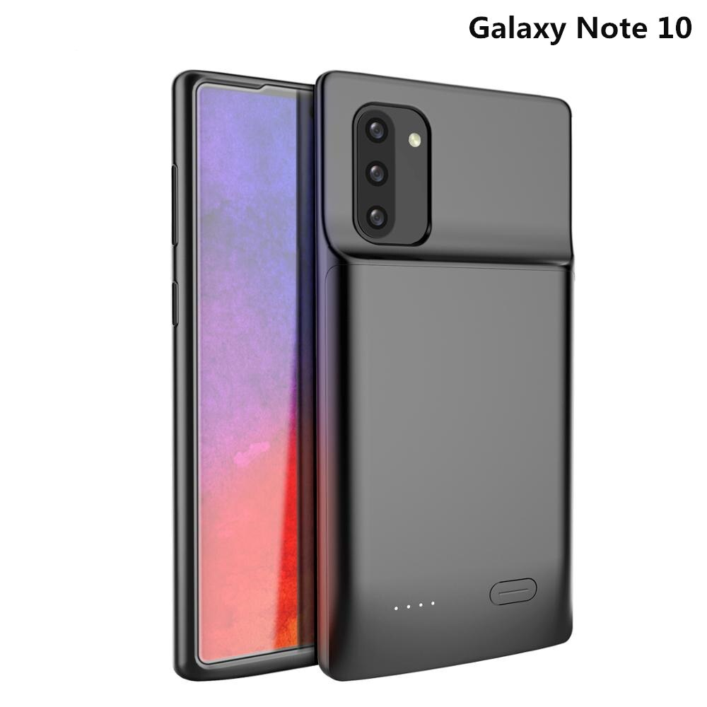 Samsung Galaxy Note 10 Battery Case Charging Cover 5200mah Extended Slim Backup Power Bank Rechargeable Cover