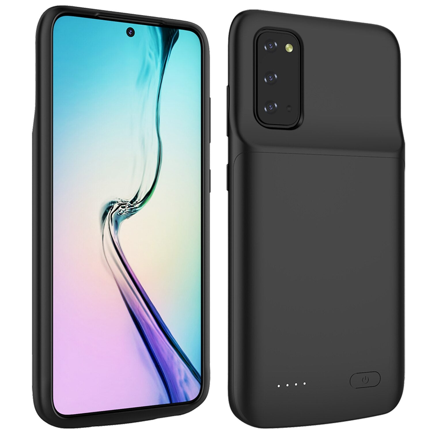 Samsung Galaxy S20 Plus Charging Case Battery Cover 6000mAh Rechargeable Portable Extended Charge Backup Charger Power Bank Good Quality